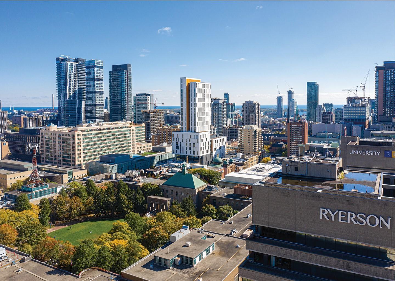 Ryerson University, là một ngôi trường luôn mang đến sự đổi mới hàng đầu số 1 tại Canada